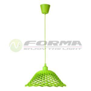 Visilica silikon 1xE27 zelena FV2792GR FORMA CORMEL