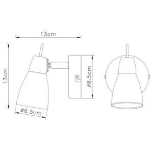 FG902-1 Zidna spot lampa 1xG9 FORMA CORMEL