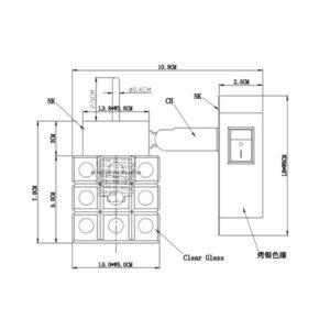 FG903-1 Zidna spot lampa 1xG9 FORMA CORMEL