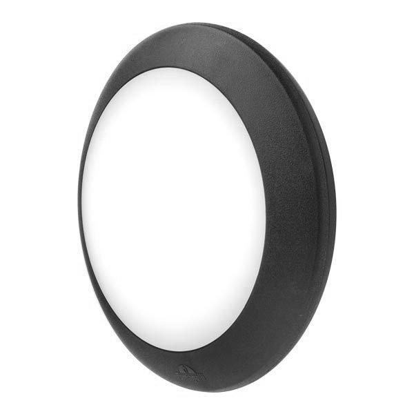 Zidna lampa E27 Berta black Fumagalli