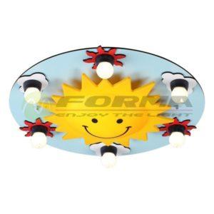 Plafonska lampa 6xE27 DF7005-6C CORMEL FORMA