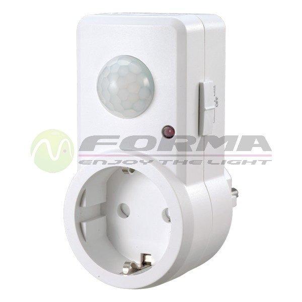 Senzorom pokreta sa utičnicom SP04 CORMEL FORMA