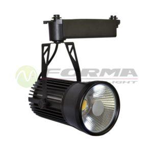 inski LED reflektor 30W TL04-30 BK CORMEL FORMA