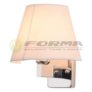 Zidna lampa 1xE27 F91-1 CH SVETLO CORMEL FORMA