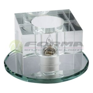 CFR1200 G9 staklena rozetna FORMA CORMEL