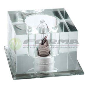 CFR1201 G9 staklena rozetna FORMA CORMEL