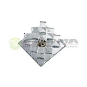CFR1204 G9 staklena rozetna FORMA CORMEL