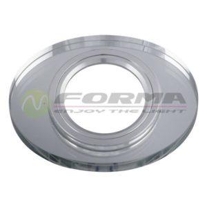 CFR1205 WH staklena rozetna FORMA CORMEL