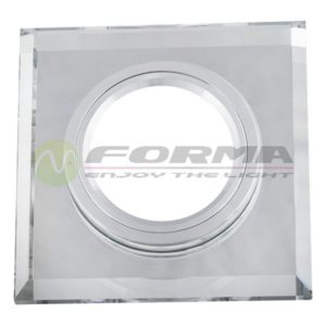 CFR1206 WH staklena rozetna FORMA CORMEL