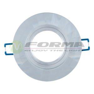CFR1207 WH staklena rozetna FORMA CORMEL