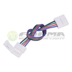Konektor za LED traku K4-PR10-4 FORMA CORMEL