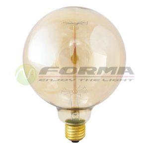 Edison sijalica E27 40W 60W G125 Cormel FORMA