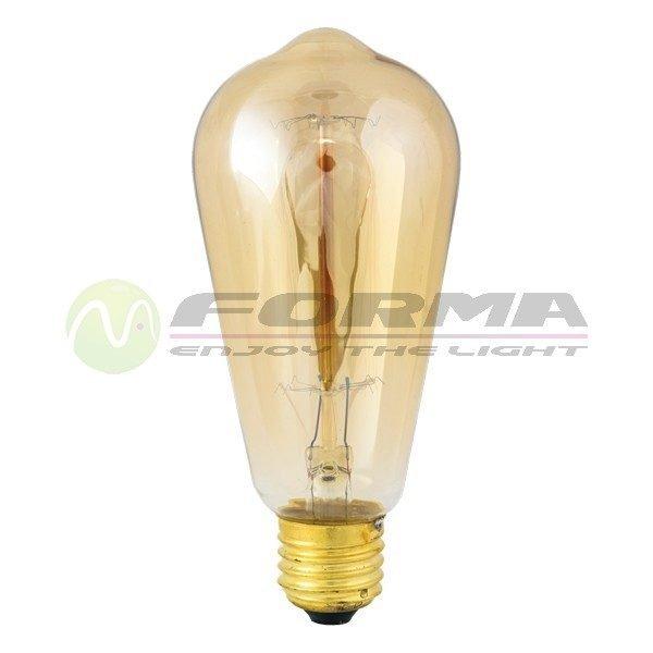 Edison sijalica E27 40W 60W ST64 Cormel FORMA