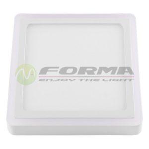 LED panel ugradni 6W+3W LPD-08-24S WH+WW Cormel FORMA
