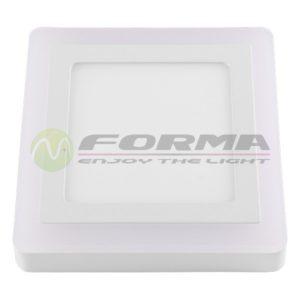 LED panel ugradni 6W+3W LPD-08-9S WH+WW Cormel FORMA