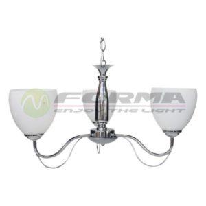 Luster E27 3xMax. 60W ML2706-3 CH Cormel FORMA