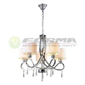 Luster E27 5xMax. 60W ML2740-5 WH Cormel FORMA