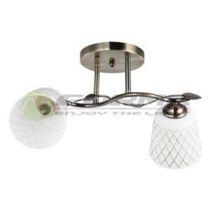 Plafonska lampa 2xMax. 60W E27 MD2727-2 Cormel FORMA