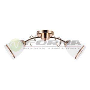 Plafonska lampa E27 2xMax. 60W MD2734-2 Cormel FORMA