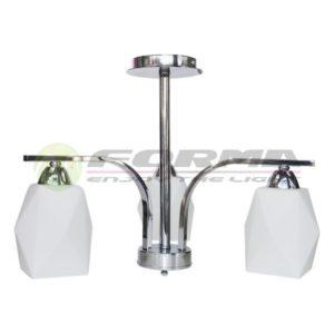 Plafonska lampa E27 3xMax. 60W F7005-3L CH Cormel FORMA