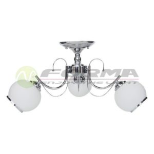 Plafonska lampa E27 3xMax. 60W MD2716-3 CH Cormel FORMA