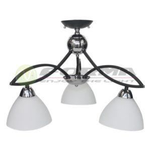 Plafonska lampa E27 3xMax. 60W MD2717-3 BK Cormel FORMA