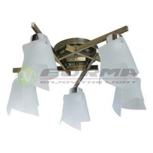 Plafonska lampa E27 5xMax. 60W MD2719-5 AB v2 Cormel FORMA