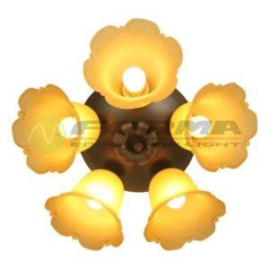 Plafonska lampa E27 5xMax. 60WF7509-5C Cormel FORMA