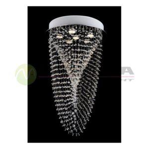 Plafonska lampa kristal FG127-5C 35W Cormel FORMA
