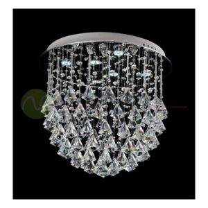 Plafonska lampa kristal FG128-6C 35W Cormel FORMA