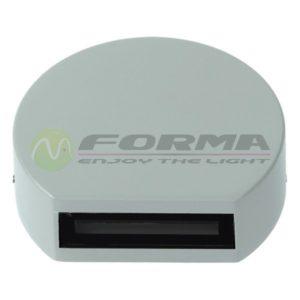Spoljašnja LED lampa 3W S4316 GRAY (2) Cormel FORMA