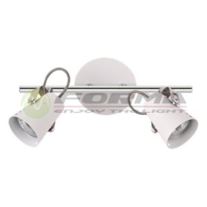 Spot lampa GU10 2xMax. 50W FG102-2 WH Cormel FORMA