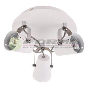 Spot lampa GU10 3xMax. 50W FG102-3C WH Cormel FORMA