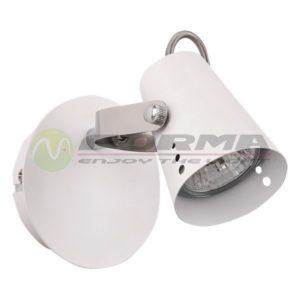 Spot lampa GU10 Max. 50W FG102-1 WH Cormel FORMA
