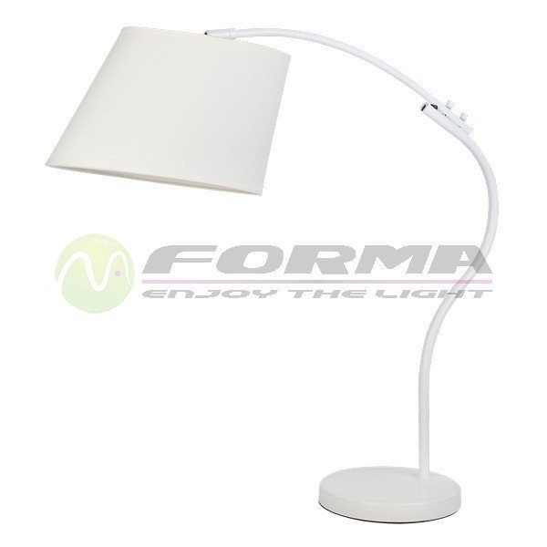 Stona lampa 1xE27 Max. 60W F7106-1T WH Cormel FORMA