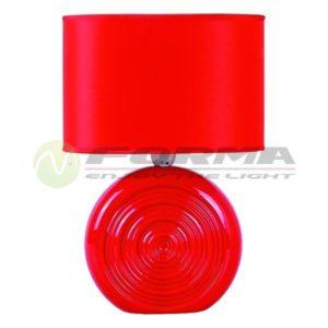 Stona lampa E14 Max. 40W SK4005 RED Cormel FORMA