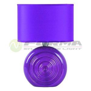 Stona lampa E14 Max. 40W SK4005 VIOLET Cormel FORMA