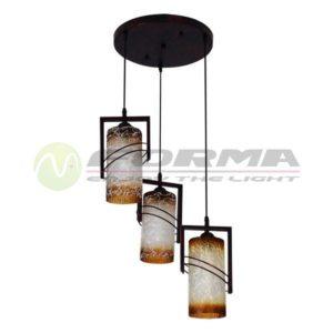 Viseća lampa E27 3xMax. 60W F7507-3V Cormel FORMA