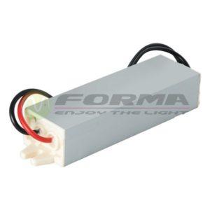 Vodootporno napajanje za LED trake 15W SIP-15-12V Cormel FORMA