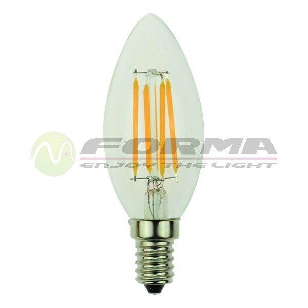 LED sijalica E14 4W sveca 2700K LFB-C35-4 Filament Cormel FORMA